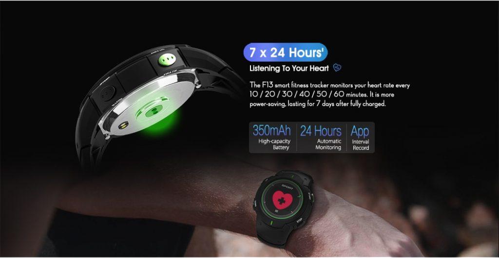 รีวิว สมาร์ทวอทช์ NO.I F13 Smart Watch