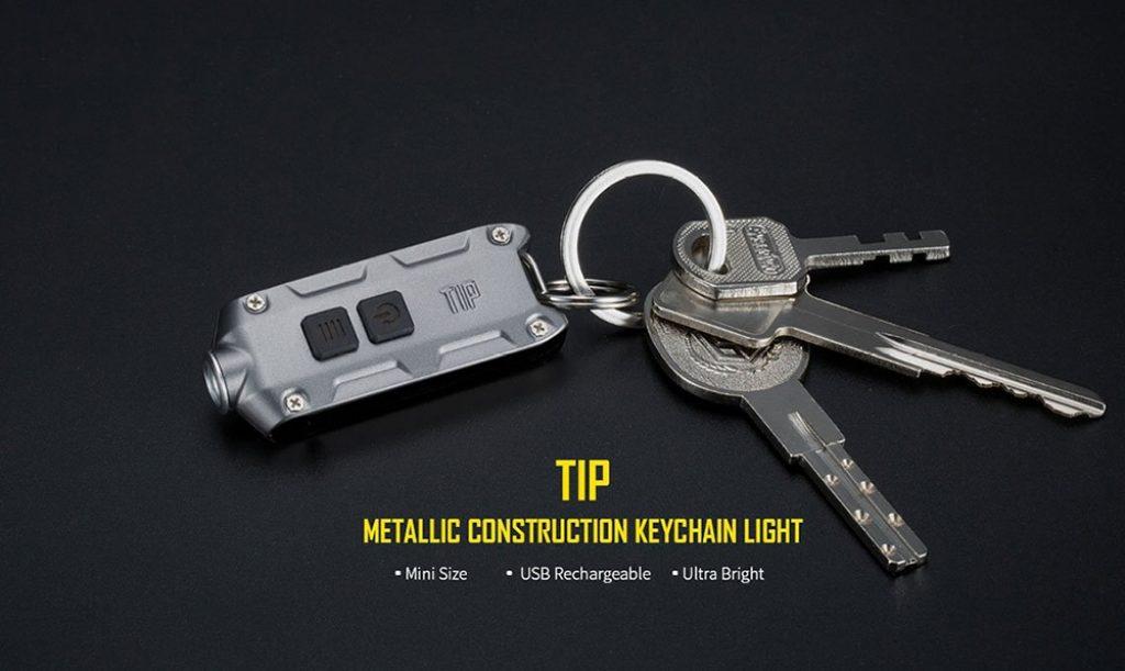 ไฟฉายพวงกุญแจ Nitecore tip keychain