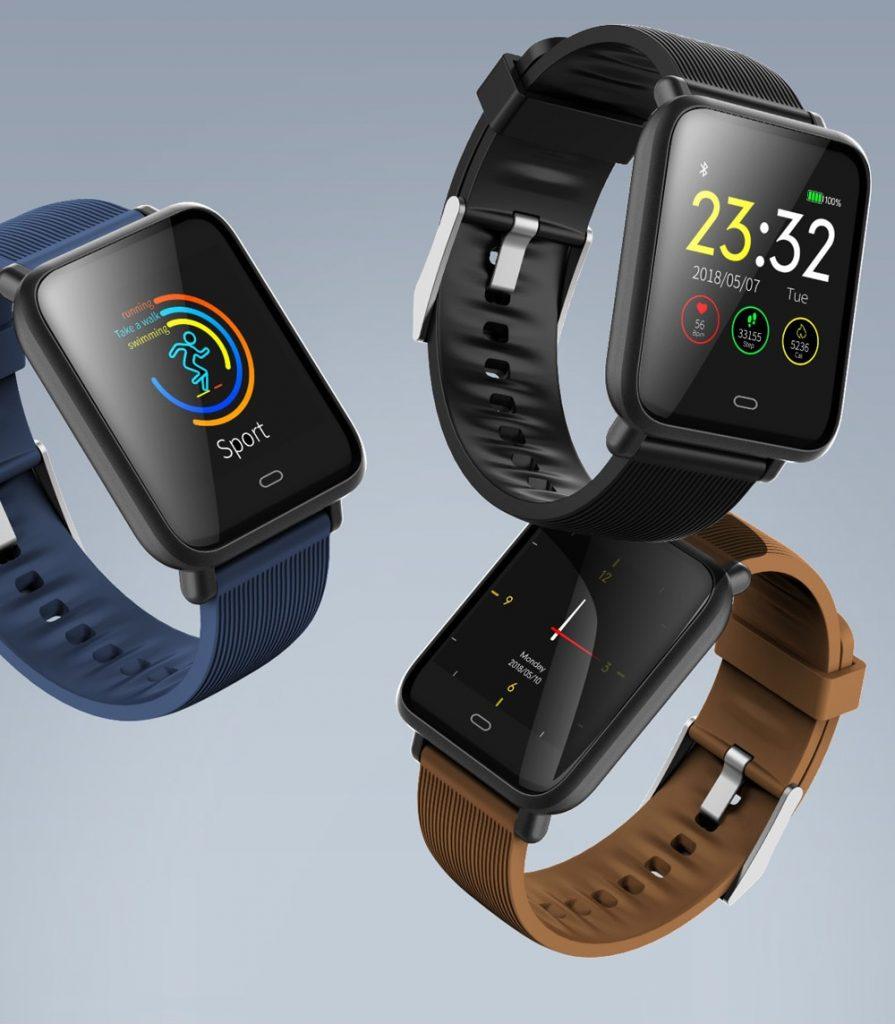 นาฬิกา สมาร์มวอทช์ Q9 Waterproof Sports Smart Watch for Android / iOS