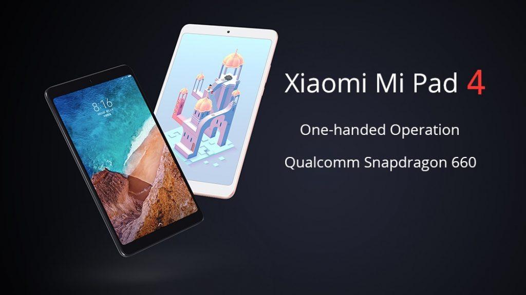 Xiaomi Mi Pad 4 Tablet PC 3GB + 32GB