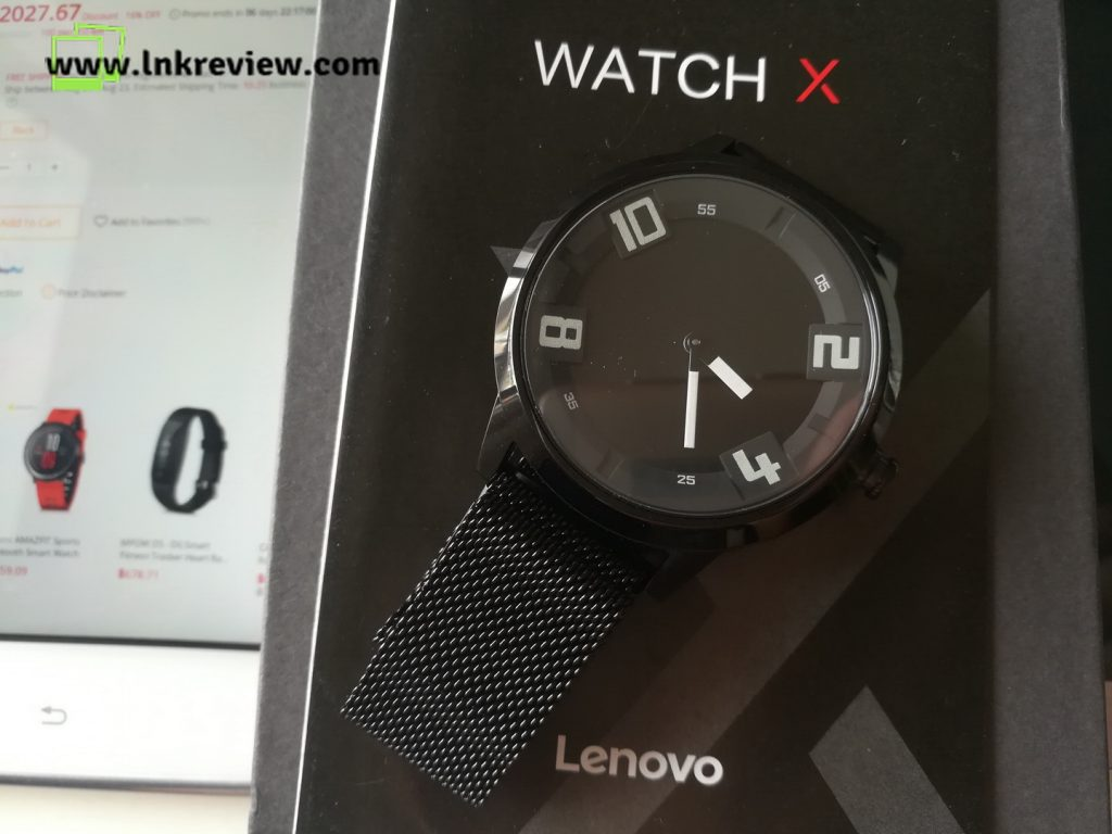review lenovo watch x
