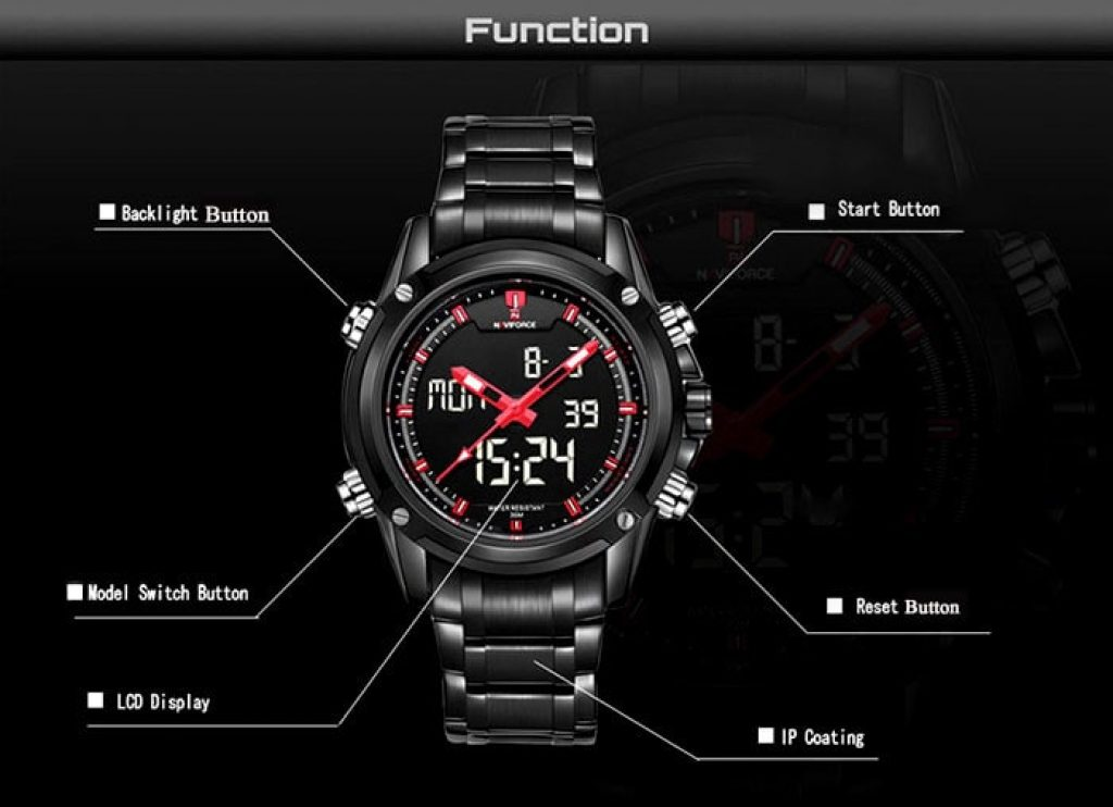 นาฬิกา Naviforce Multifunctional
