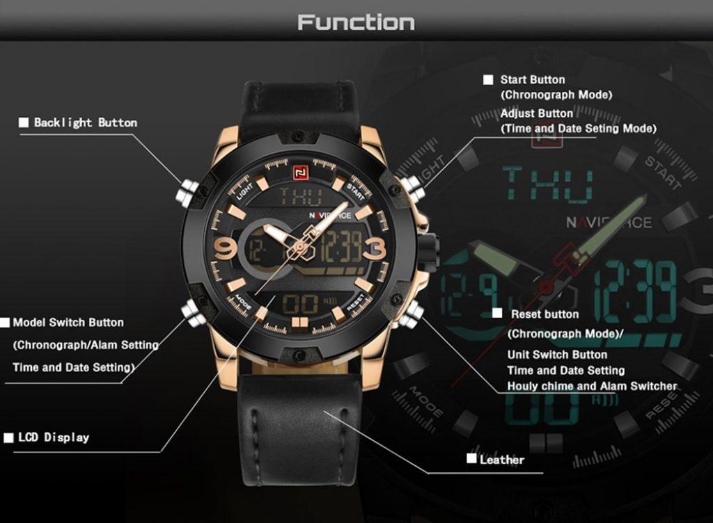 นาฬิกา Naviforce 9097