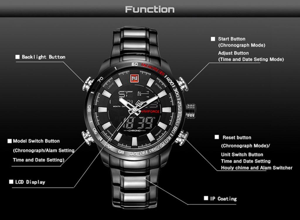นาฬิกา NAVIFORCE 9093