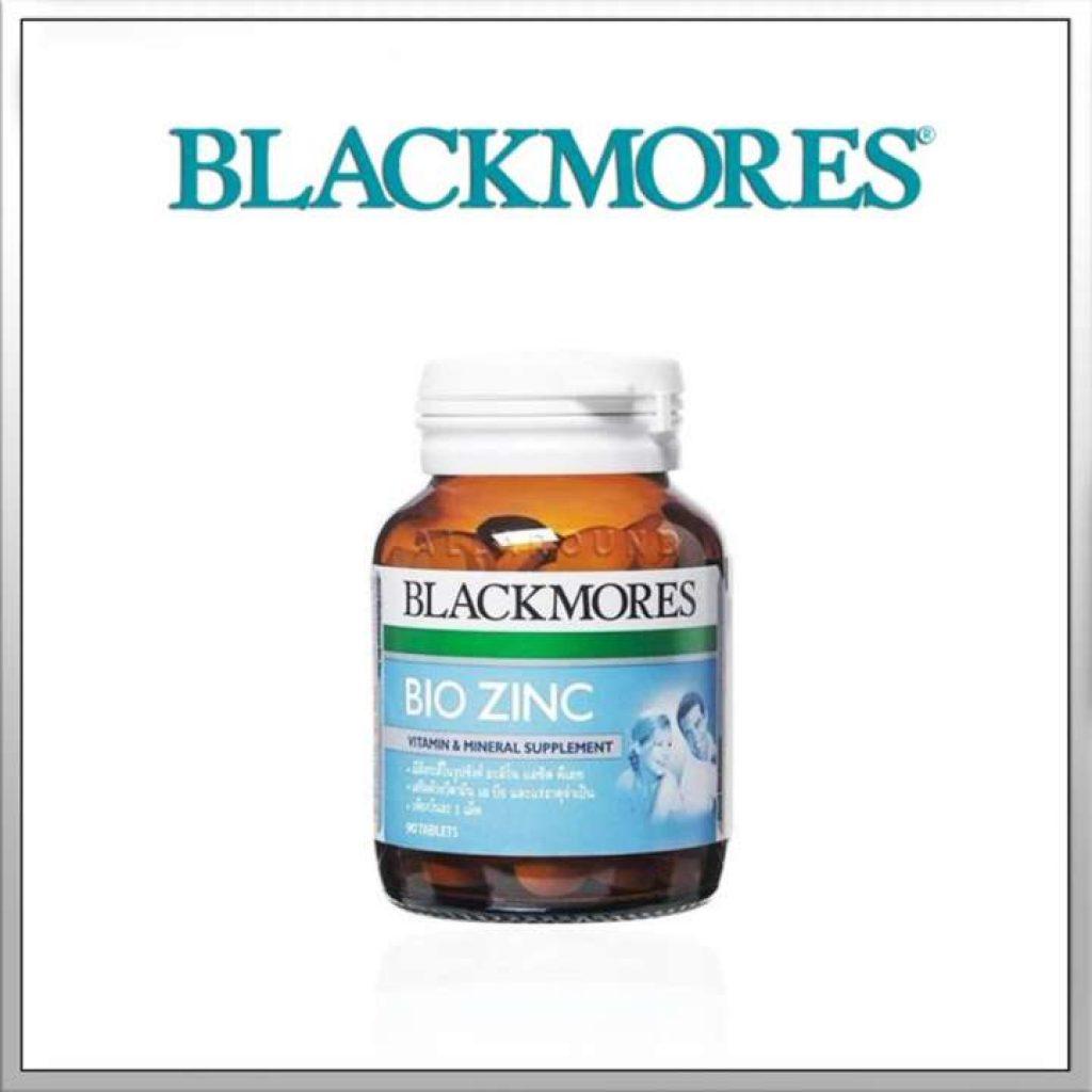 Blackmores Zinc แบล็คมอร์ส ไบโอ ซิงค์ บำรุงร่างกาย เสริมวิตามิน