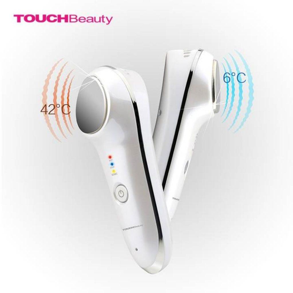 Touch Beauty เครื่องนวดหน้า ร้อน,เย็น