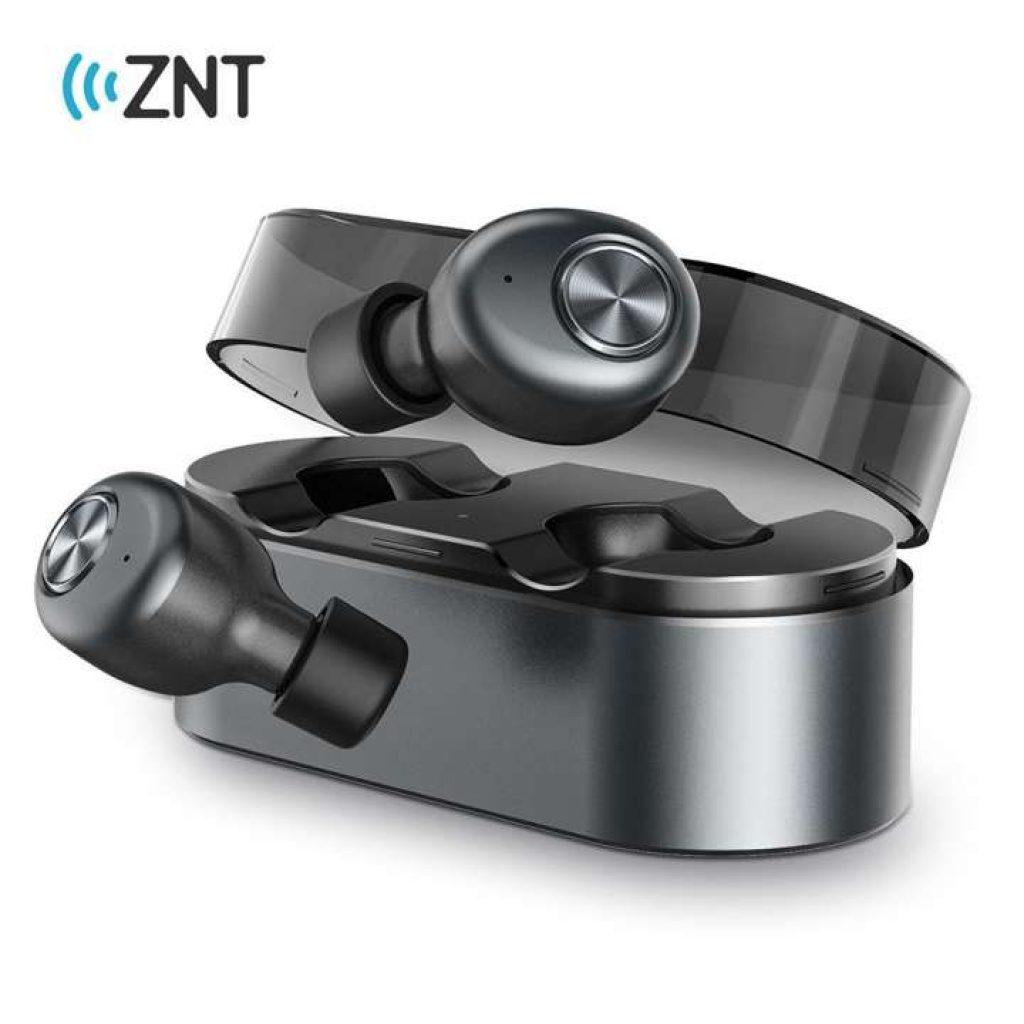 หูฟัง ZNT AirFits ใหม่รุ่นไร้สาย TWS หูฟังบลูทูธ 5.0 หูฟังออกกำลัง
