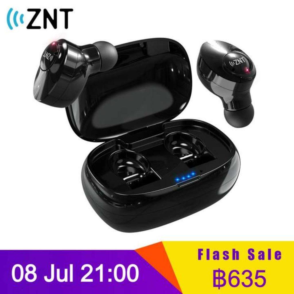 หูฟัง ZNT FireFit บลูทูธ 5.0 True Wireless หูฟัง สเตอริโอ หูฟังบลูทูธพร้อม