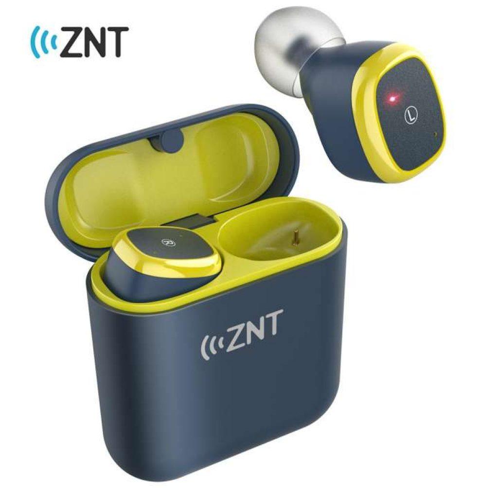 หูฟัง ZNT D06-A สเตอริโอไร้สายแท้ หูฟัง TWS บลูทูธหูฟัง สำหรับเล่นกีฬาพร้อม