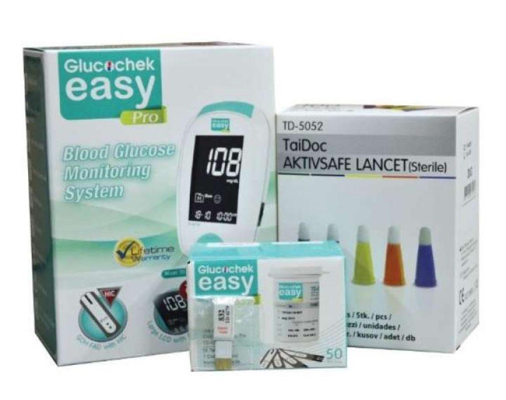เครื่องตรวจน้ำตาล Glucochek Easy Pro