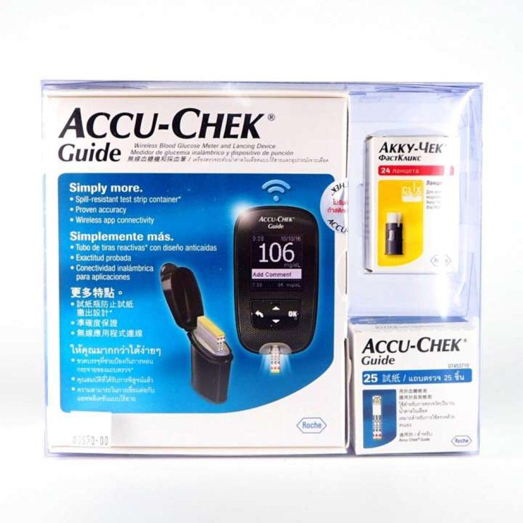 Accu-chek Guide เครื่องวัดน้ำตาล