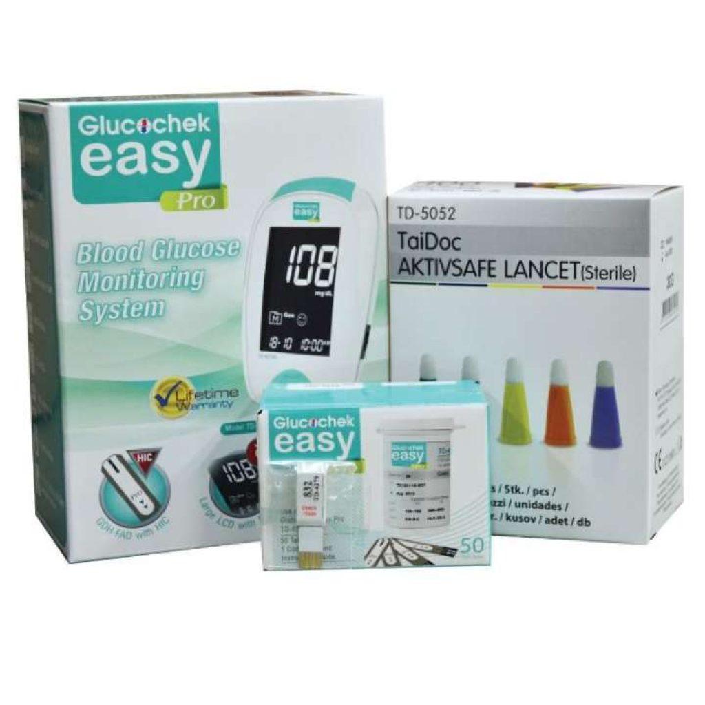 เครื่องตรวจน้ำตาลในเลือด Glucochek easy pro