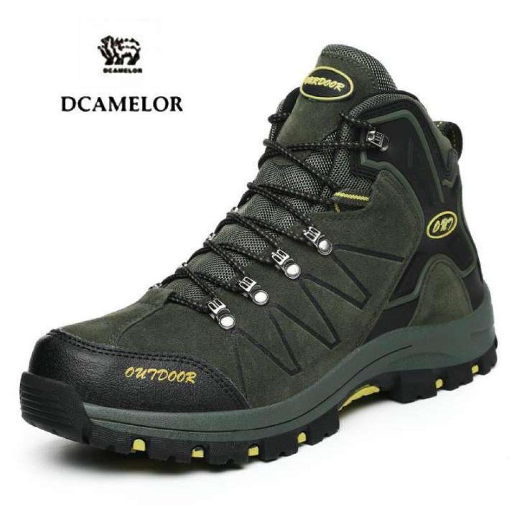 รองเท้าเดินป่า DCAMELOR กลางแจ้งเดินป่าชายรองเท้า