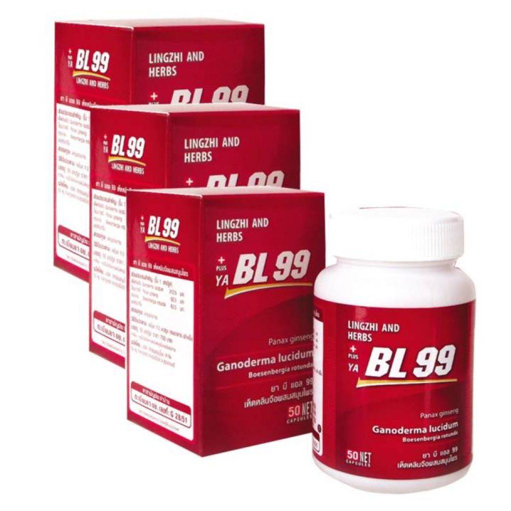 BL99 บีแอล99 เห็ดหลินจือ อาหารเสริมเพื่อสุขภาพ