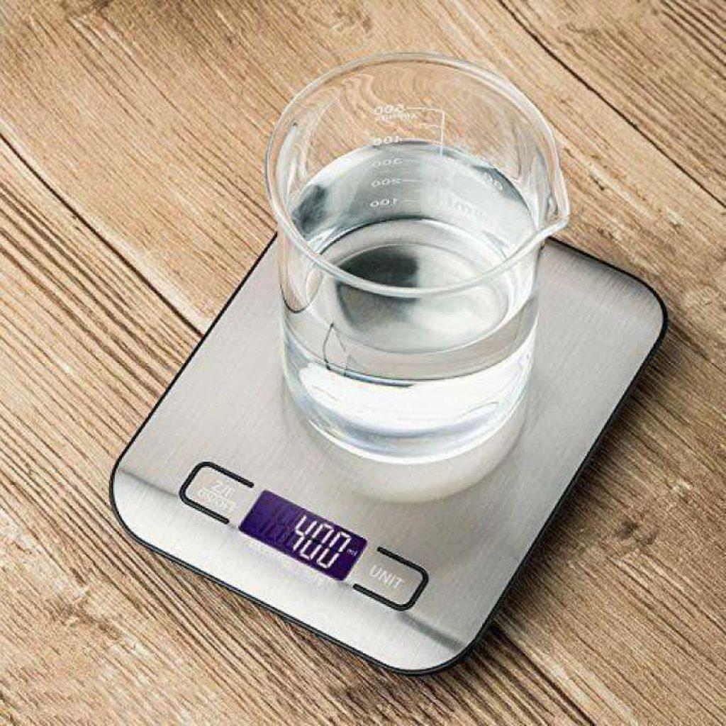 ตาชั่งดิจิตอล LIVEDIC สูงสุด 5kg เครื่องชั่งดิจิตอล เครื่องชั่งในครัว เครื่องชั่งอาหาร เครื่องชั่งขนม ตาชั่งดิจิตอล แบบพกพา เครื่องชั่ง ตาชั่ง ที่ชั่งอาหาร ตราชั่งดิจิตอล Kitchen Scale Digital Scale