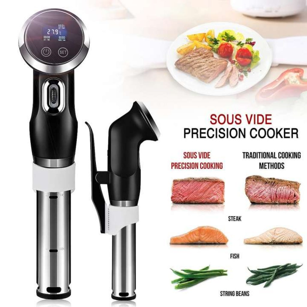 Sous Vide Precision Cooker Immersion Circulator Low Temperature Cooking Rod