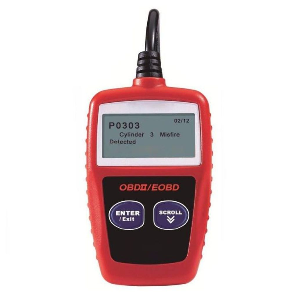 เครื่องสแกนรถยนต์ MS309 OBD2 OBDII EOBD Scanner Car Code Reader Data Tester Scan Diagnostic Tool - intl