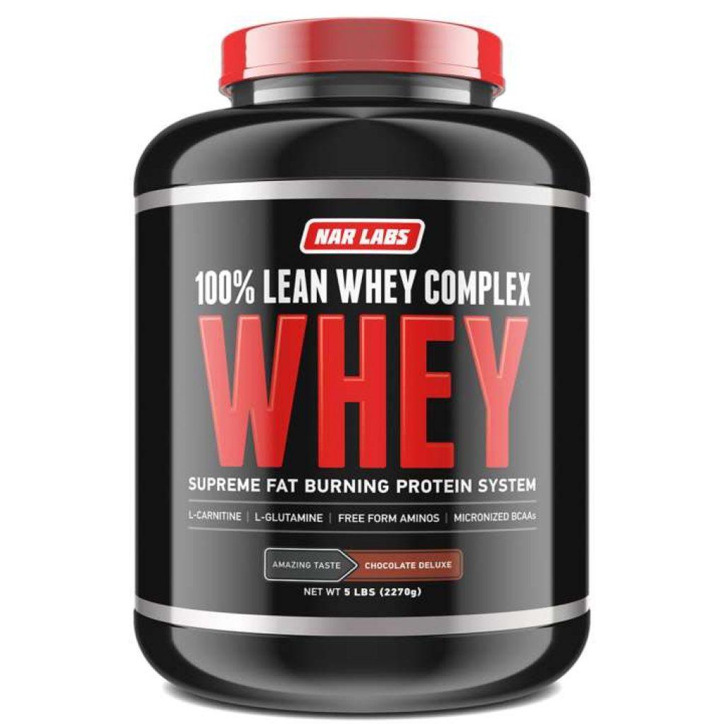 NAR LABS LEAN WHEY PROTEIN - Chocolate 5 lbs เวย์โปรตีนลดไขมัน