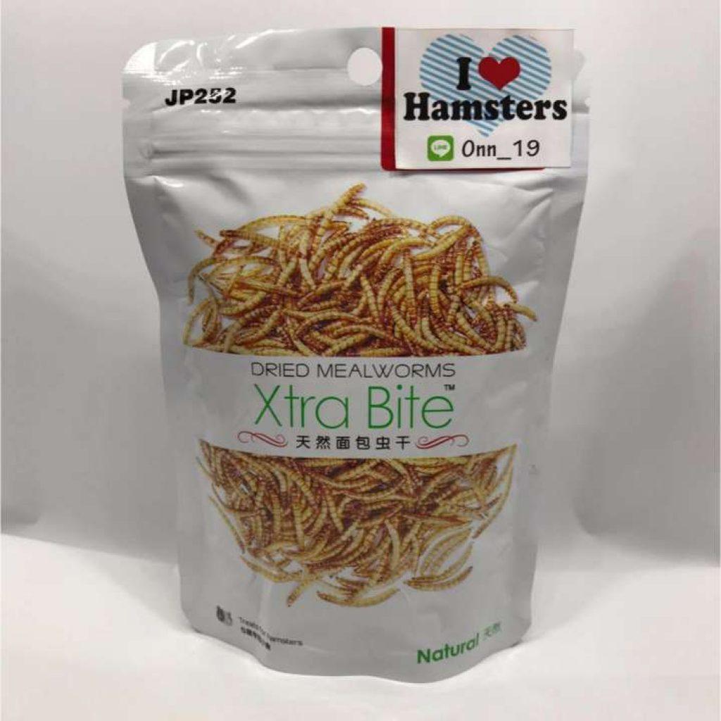 Dried Mealworms 30g อาหารหนูแฮมเตอร์และเม่นแคระ หนอนอบแห้ง (IMP) HAMSTER FOOD / แฮมเตอร์ / แฮมสเตอร์/ ชูก้า / เม่นแคระ