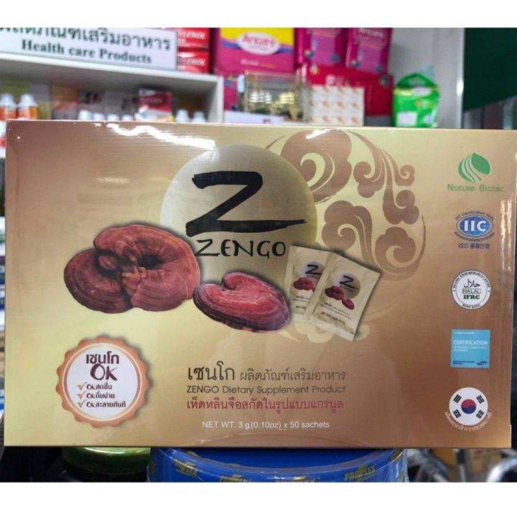 Zengo เซนโก เห็ดหลินจือแดง Linhzhimin