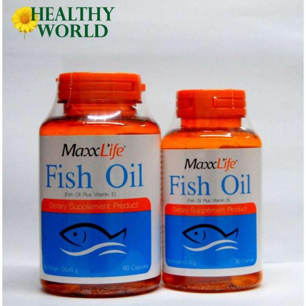 Maxxlife Fish oil น้ำมันปลา