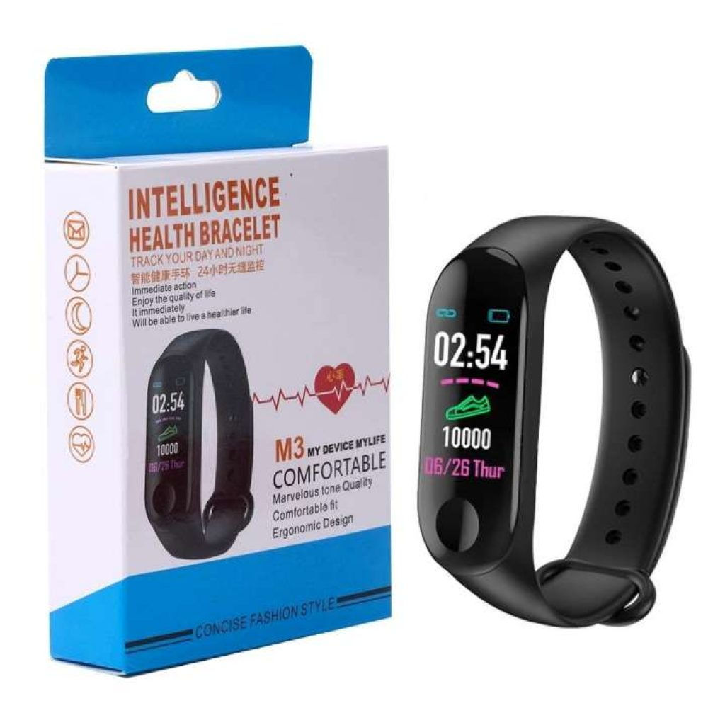 Telecorsa สายรัดข้อมือเพื่อสุขภาพ รุ่น M3-Health-Bracelet