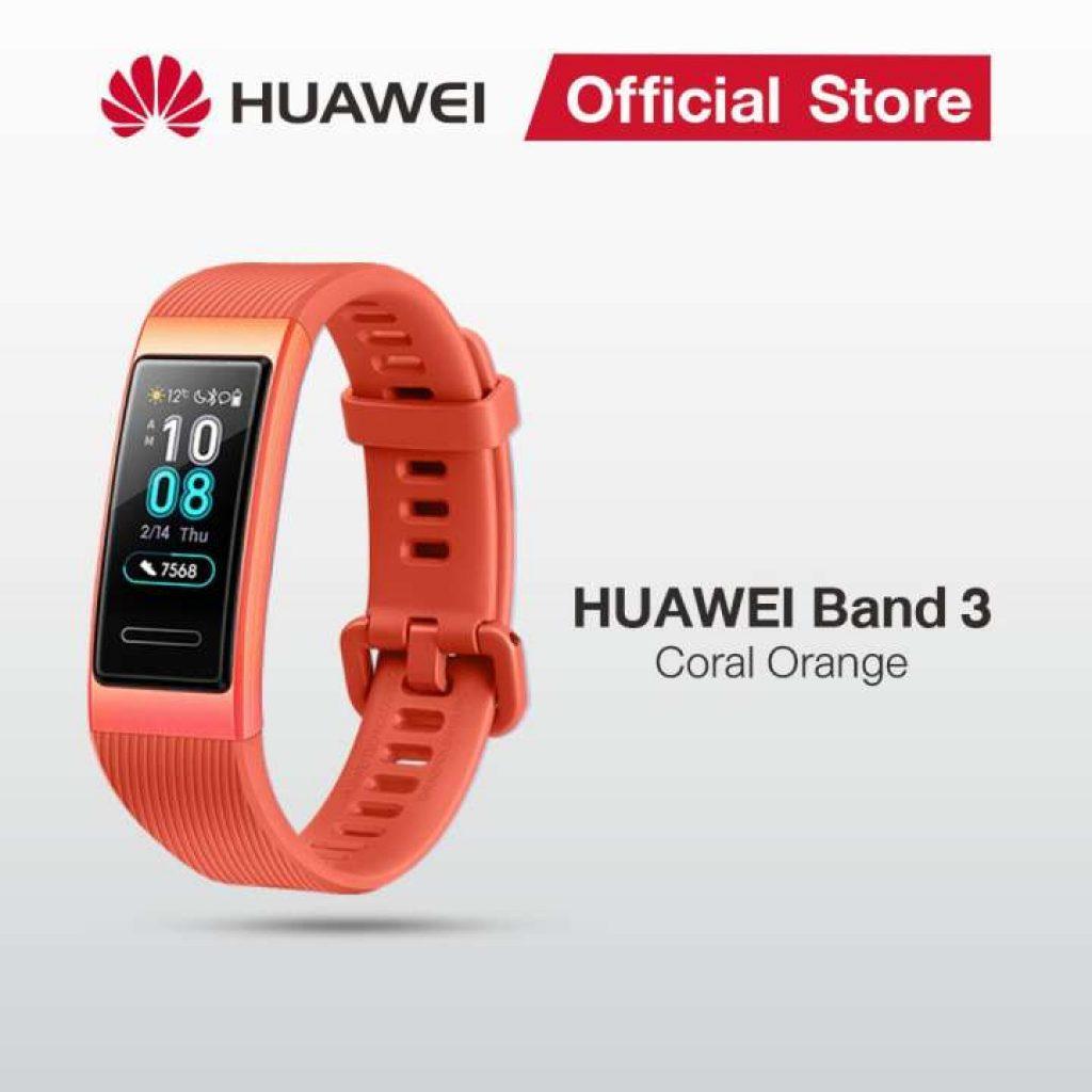 Huawei Band 3 หน้าจอทัชสกรีน AMOLED