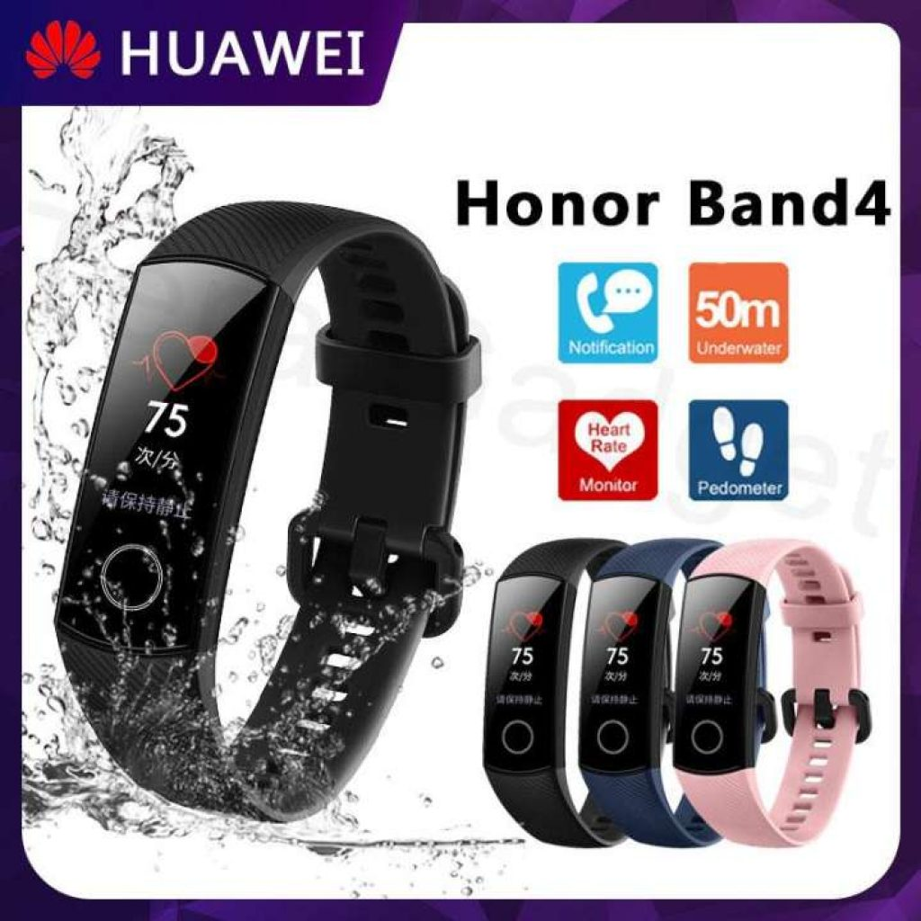 Huawei Honor band 4 สายรัดข้อมือเพื่อสุขภาพ