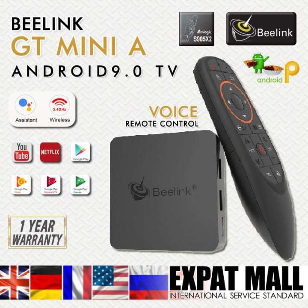 Android TV Box รุ่น Beelink GT MINI A