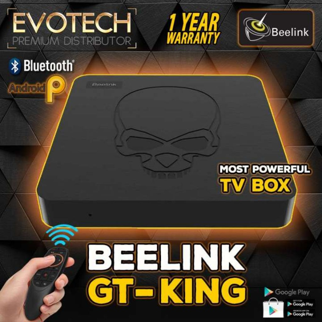 Android TV Box รุ่น Beelink GT KING
