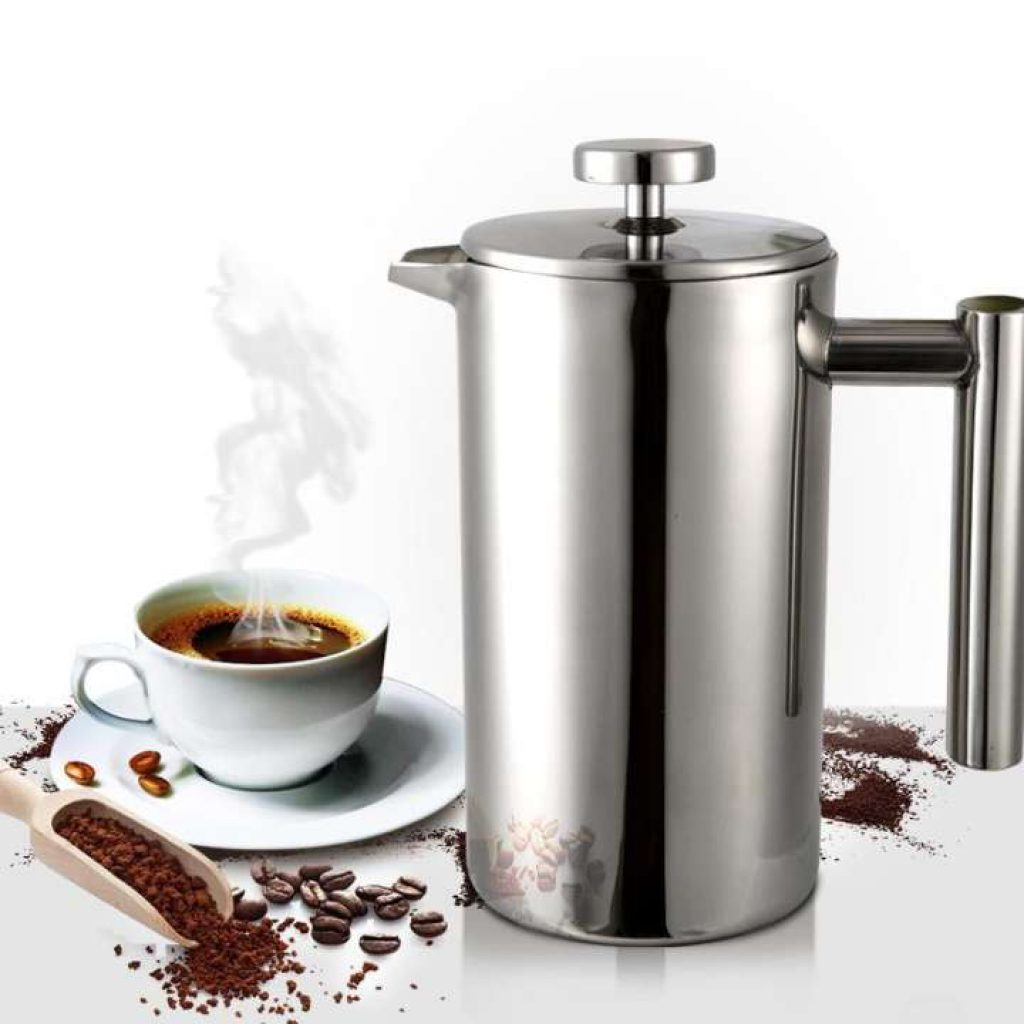 Lapin กาชงกาแฟ french press stainless steel