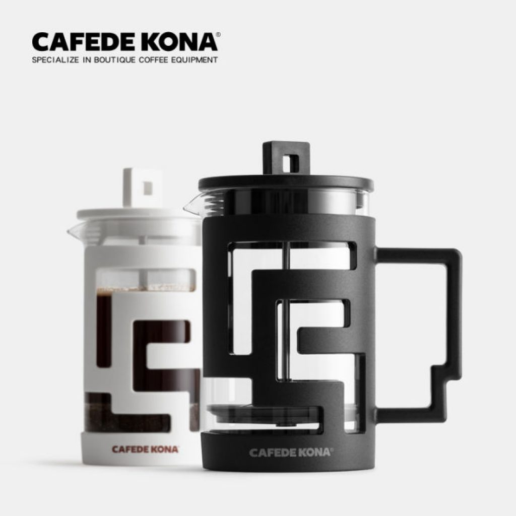 CAFEDE KONA French Press แก้วชงชา French Press Coffee Maker