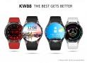 แจกคูปองส่วนลด gearbest สำหรับ Kingwear kw88 smart watch รอบ 15 พฤษภาคม 2018