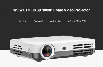wowoto h8 projector home theater โปรเจคเตอร์ ที่ขายดีรีวิวดีที่สุดใน Amazon