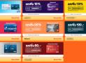 คูปองโค้ด ส่วนลด Lazada 2019 บัตรเครดิต เช็คก่อนช้อปใส่โค้ดส่วนลดก่อนจ่าย