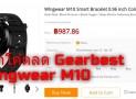 แจกคูปองส่วนลด Gearbest โค้ดส่วนลด Gearbest ซื้อ wlngwear m10 นาฬิกา