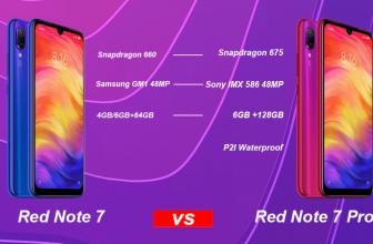 Redmi note 7 pro เปรียบเทียบ Redmi note 7 อะไรคุ้มกว่ากัน