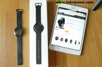 รีวิว Xiaomi Mijia Quartz Smartwatch นาฬิกาสมาร์ทวอทช์ระบบเข็ม