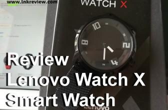 Review : รีวิว Lenovo Watch X SmartWatch สมาร์ทวอทช์ ไม่เกิน 2500 บาท